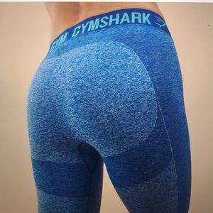 GYMSHARK FLEX LEGGINGS // Blueberry Marl Blue